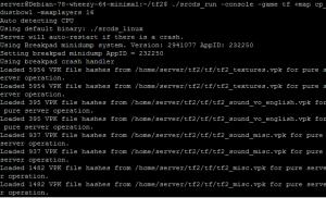 Запуск TF2 сервера