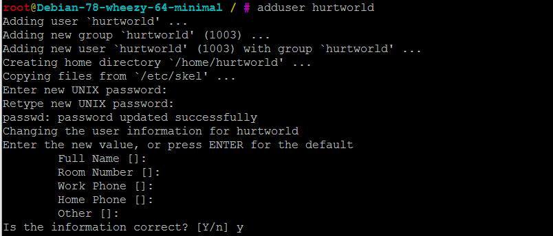 Добавление пользователей для Hurtworld сервера