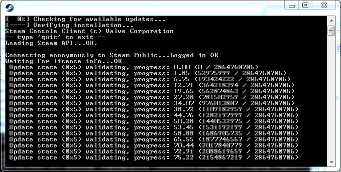 Скачать steamcmd update tools - cab4