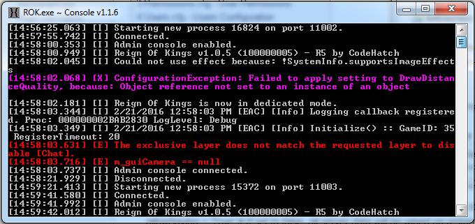 Reign of Kings запуск сервера